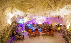 Salt Cave in the hotel OBERIG